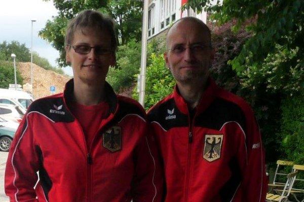 Kerstin Müller und Marco Kallenbach