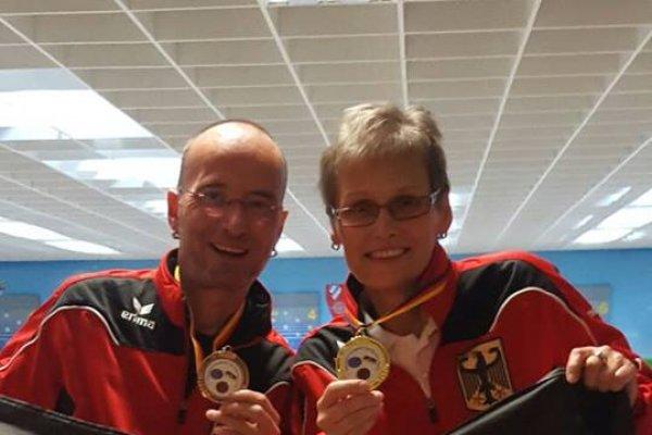 Kerstin Müller und Marco Kallenbach für Deutschland