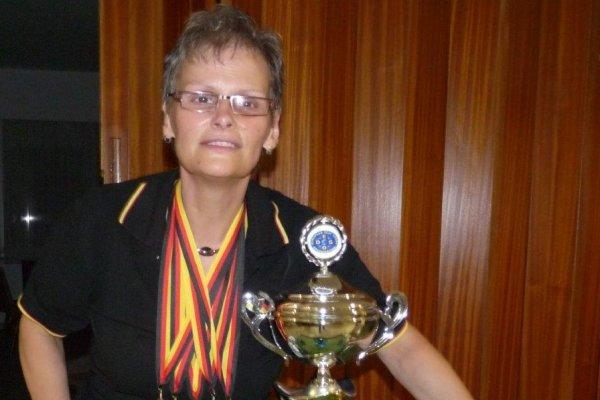 Die fünffache Europacupsiegerin Kerstin Müller